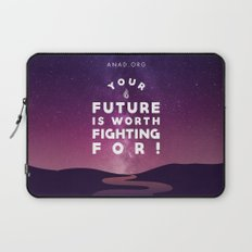 Your Future Is Worth Fighting For! Laptop Sleeve