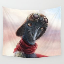 Queen Bess Emu Wall Tapestry