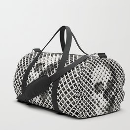Wicker Skull Duffle Bag