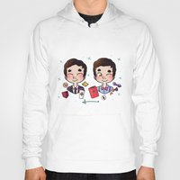 wes anderson Hoodies featuring 5 years of Blaine Anderson by Sunshunes