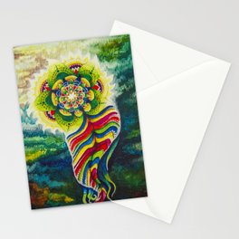 The Flowering Water Spirit of Nanagacqueway Stationery Cards