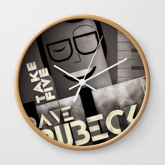 CASSANDRE SPIRIT - Dave Brubeck Wall Clock