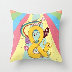 Adventuresands Throw Pillow