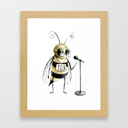 Spelling Bee Framed Art Print