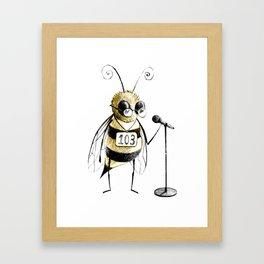 Spelling Bee Framed Art Print