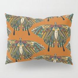 swallowtail butterfly copper Pillow Sham