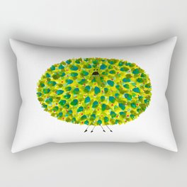 Poofy Pineapple Rectangular Pillow