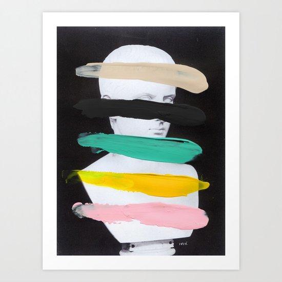 Untitled (Finger Paint 1) Art Print