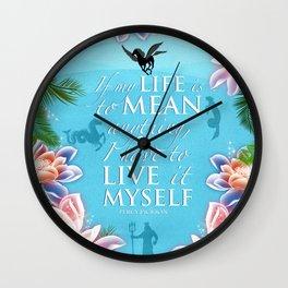 PJO Live it myself Wall Clock