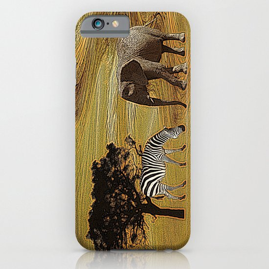 Abstract Africa iPhone & iPod Case