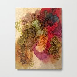 Botanical Field Metal Print