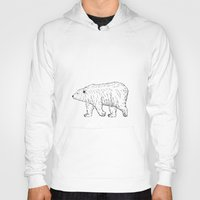bears Hoodies featuring Bears by Adam Lindfors