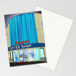 Swingers Coffee Shop, Los Angeles CA Stationery Cards