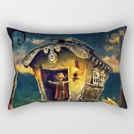 The Theatre of Tales Rectangular Pillow