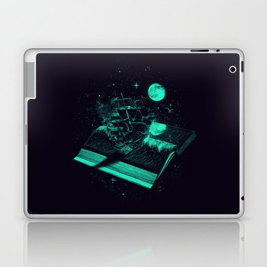 Crossing the Rough Sea of Knowledge   Laptop & iPad Skin