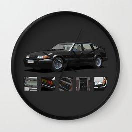 Rover Vitesse 1986 Black Wall Clock