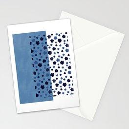 Indigo Rain #society6 #indigo Stationery Cards