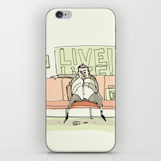 Live Life iPhone & iPod Skin