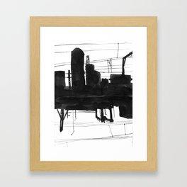 Railway II Framed Art Print