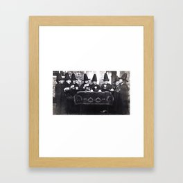 Witches Tea Party Framed Art Print