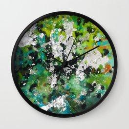 Slime Time Wall Clock