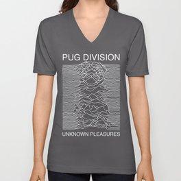 Pug Division Unisex V-Neck