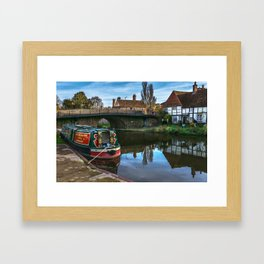 Hungerford Wharf Framed Art Print