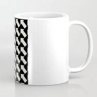 White Arrows Coffee Mug