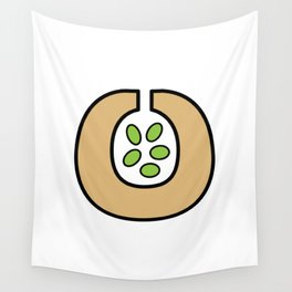 Ceramic Vessel with Beans Wall Tapestry