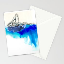 you're leaking dreams Stationery Cards