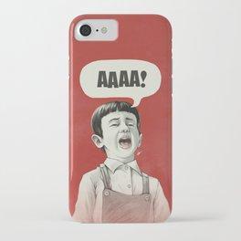 AAAA! iPhone Case