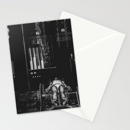 Frankenstein's Monster In The Lab Stationery Cards