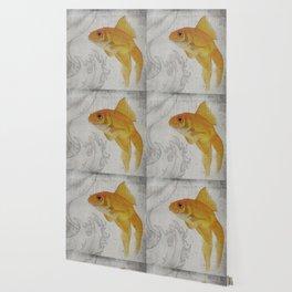 3 Goldfish Wallpaper