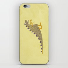 Not a very scary dinosaur iPhone & iPod Skin