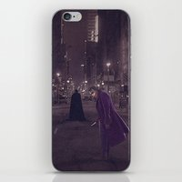 gotham iPhone & iPod Skins featuring Gotham Nights by Ed Burczyk