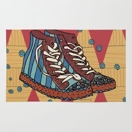 funky shoes Rug