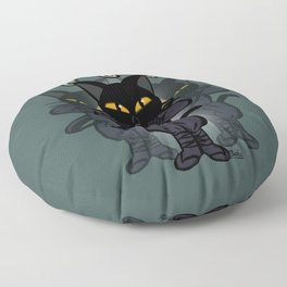 Art of division Floor Pillow