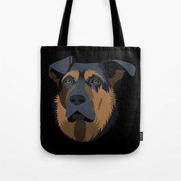 Ruby (German Shepard) Tote Bag