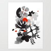 scandinavian Art Prints featuring scandinavian nature by Lucja