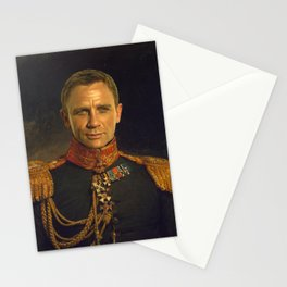 Daniel Craig - replaceface Stationery Cards