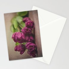 Pretty Purple Stationery Cards