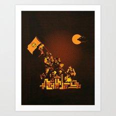 Epics Art Print