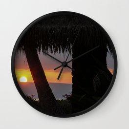 aloha ahiahi Wall Clock