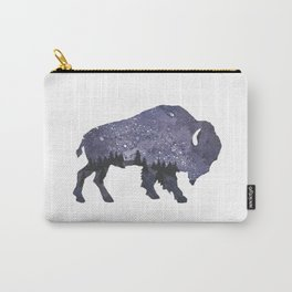 Starry Night Buffalo Carry-All Pouch