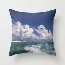 Emerald Coast  Throw Pillow