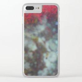 sci fi tye-die Clear iPhone Case