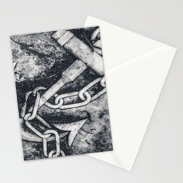 Anchor Sculpture Photo Stationery Cards