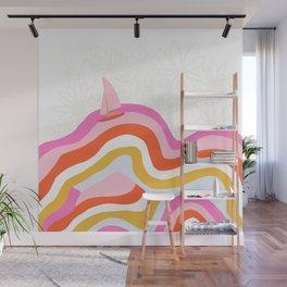 catalina, sailing waves Wall Mural
