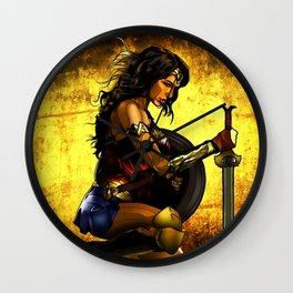 Amazonian Woman Wall Clock