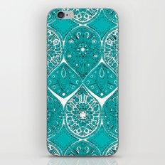 saffreya turquoise iPhone & iPod Skin